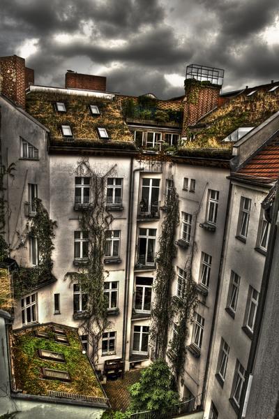 berliner hinterhof - Hinterhof Landschaften Bilder